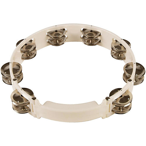 Sound Percussion Labs Baja Percussion Shape Shifter Tambourine with Double Row Steel Jingles-thumbnail