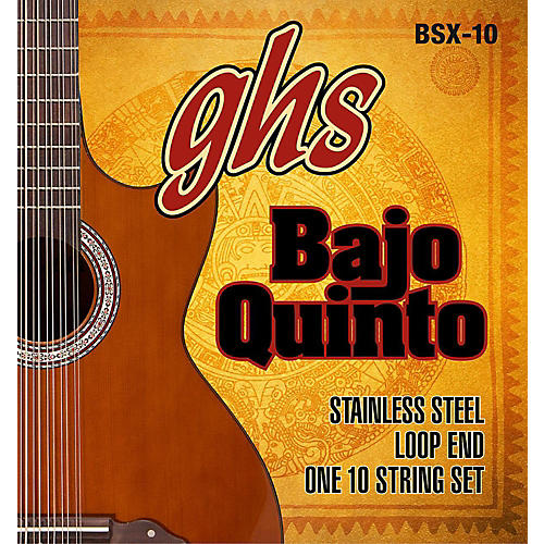 GHS Bajo Sexto 10-String Guitar Strings Set