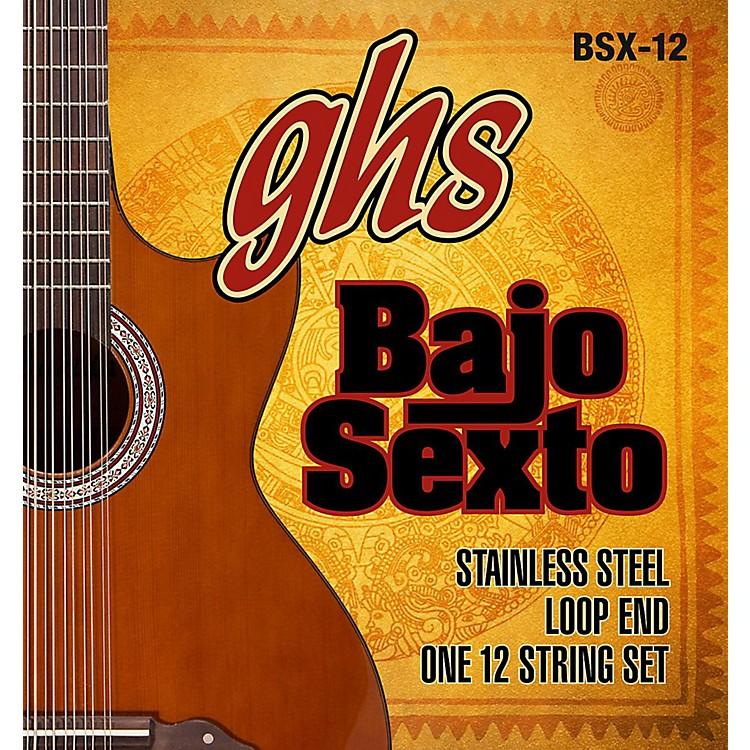 GHSBajo Sexto 12-String Guitar String Set