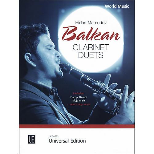 Theodore Presser Balkan Clarinet Duets (Book)