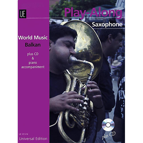 Carl Fischer Balkan Play-Along Book with CD - Saxophone with Accompaniment-thumbnail
