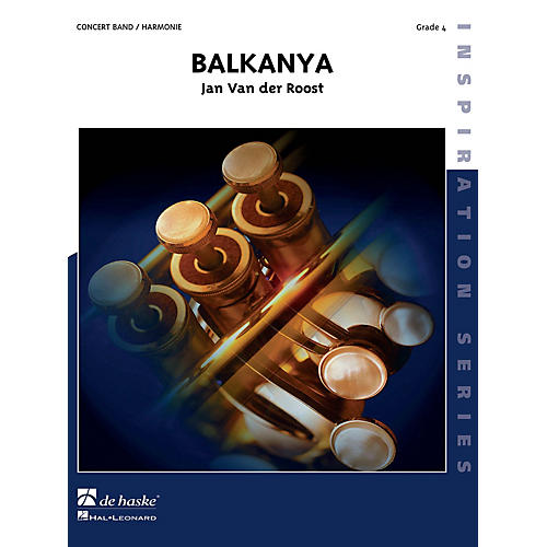 De Haske Music Balkanya (Three Balkanese Dances) (Score and Parts) Concert Band-thumbnail