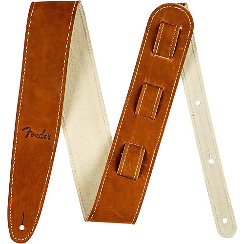 Fender Ball Glove Leather Guitar Strap-thumbnail