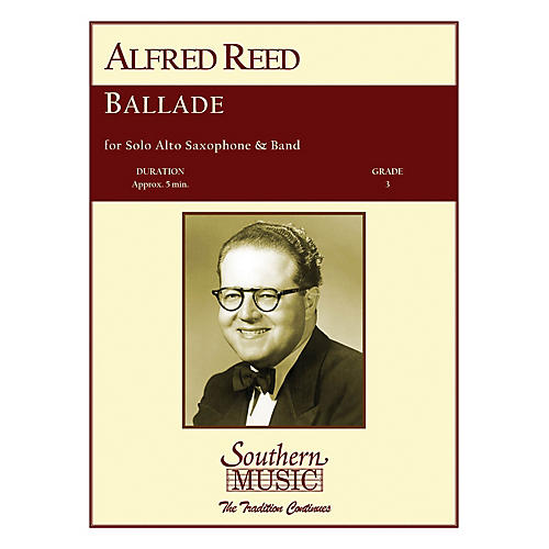 Southern Ballade (Band/Instrumental Solo) Concert Band Level 3 Composed by Alfred Reed