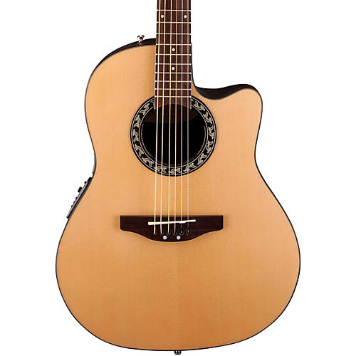 Applause Balladeer Mid Depth Bowl Acoustic-Electric Guitar Natural