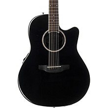 Applause Balladeer Series AB24II Acoustic-Electric Guitar Level 1 Black