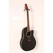 Applause Balladeer Series AB24II Acoustic-Electric Guitar Level 2 Black 190839118820