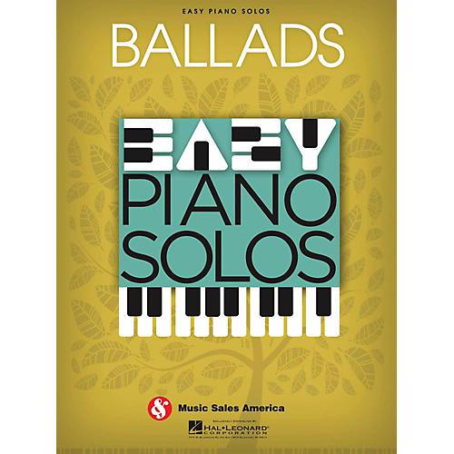 Music Sales Ballads  Easy Piano Solos-thumbnail