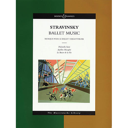 Boosey and Hawkes Ballet Music (The Masterworks Library) Boosey & Hawkes Scores/Books Series Softcover by Igor Stravinsky-thumbnail