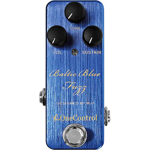 One Control Baltic Blue Fuzz Effects Pedal-thumbnail