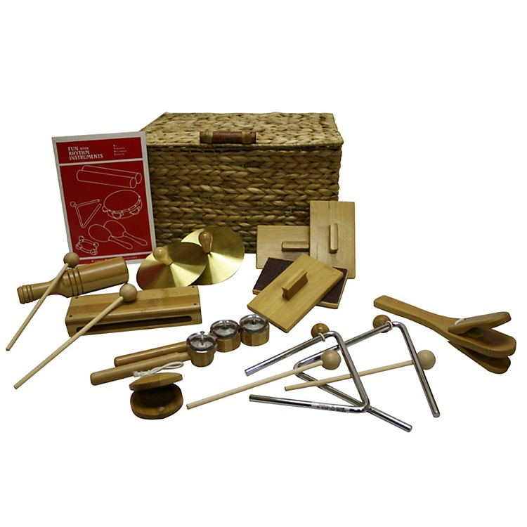 Rhythm Band BamBooM! 10-Pc. Deluxe Rhythm Kit Bamboo