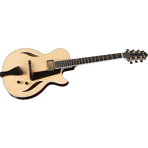 Benedetto Guitars Bambino Deluxe Hollowbody Archtop Electric Guitar-thumbnail