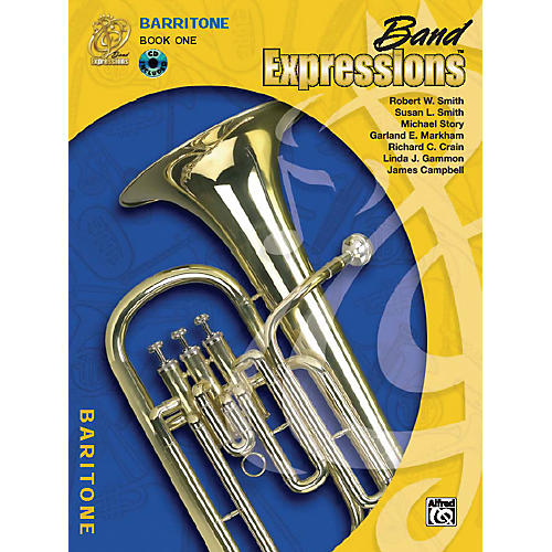 Alfred Band Expressions Book One Student Edition Baritone B.C. Book & CD