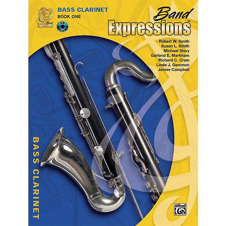Alfred Band Expressions Book One Student Edition Bass Clarinet Book & CD