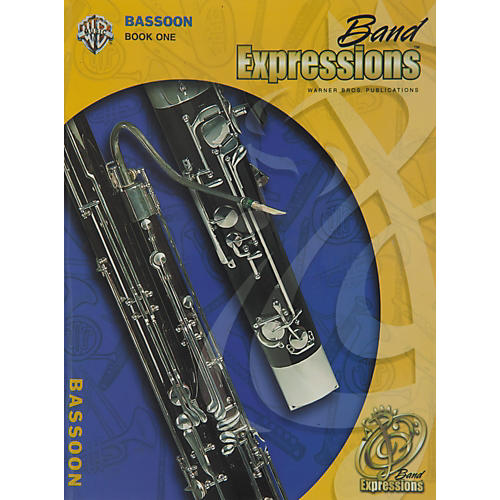 Alfred Band Expressions Book One Student Edition Bassoon Book & CD
