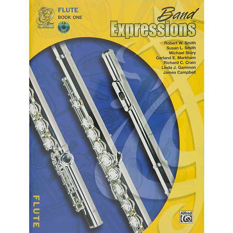 Alfred Band Expressions Book One Student Edition Flute Book & CD