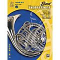 Alfred Band Expressions Book One Student Edition Horn in F Book & CD  Thumbnail