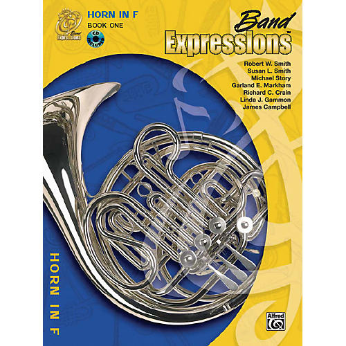 Alfred Band Expressions Book One Student Edition Horn in F Book & CD