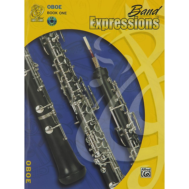 Alfred Band Expressions Book One Student Edition Oboe Book & CD