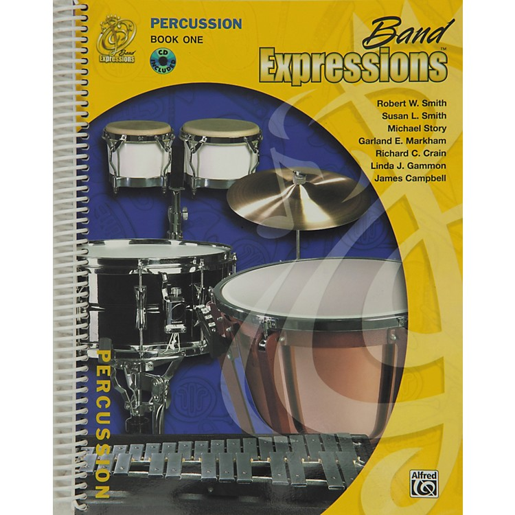 Alfred Band Expressions Book One Student Edition Percussion Book & CD