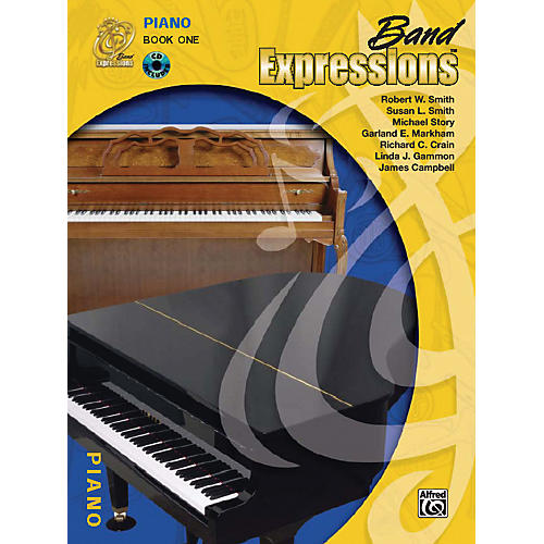 Alfred Band Expressions Book One Student Edition Piano Book & CD
