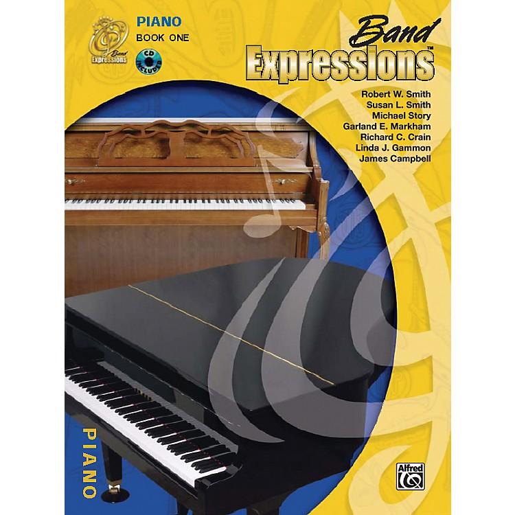 AlfredBand Expressions Book One Student Edition Piano Book & CD