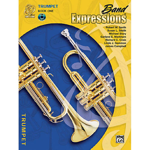 Alfred Band Expressions Book One Student Edition Trumpet Book & CD