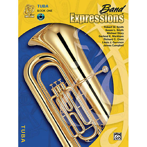 Alfred Band Expressions Book One Student Edition Tuba Book & CD
