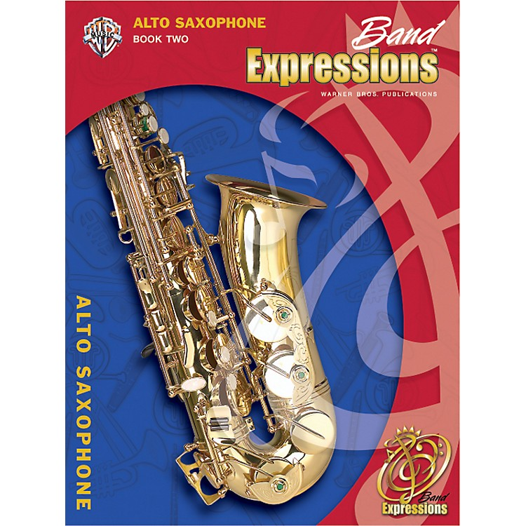 Alfred Band Expressions Book Two Student Edition Alto Saxophone Book & CD