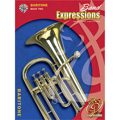 Alfred Band Expressions Book Two Student Edition Baritone B.C. Book & CD