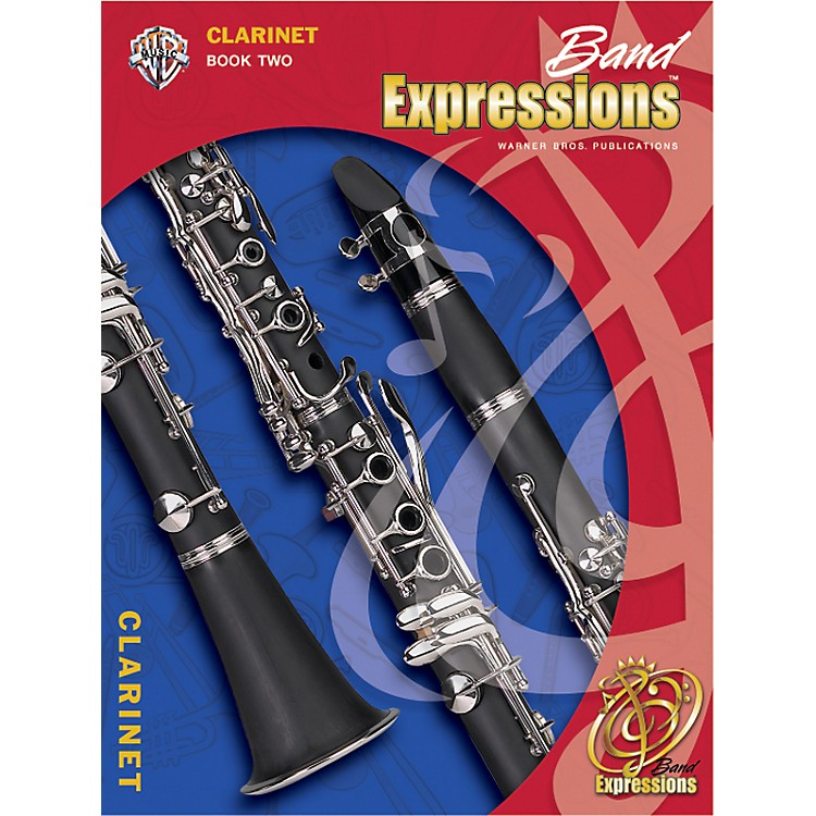 Alfred Band Expressions Book Two Student Edition Clarinet Book & CD