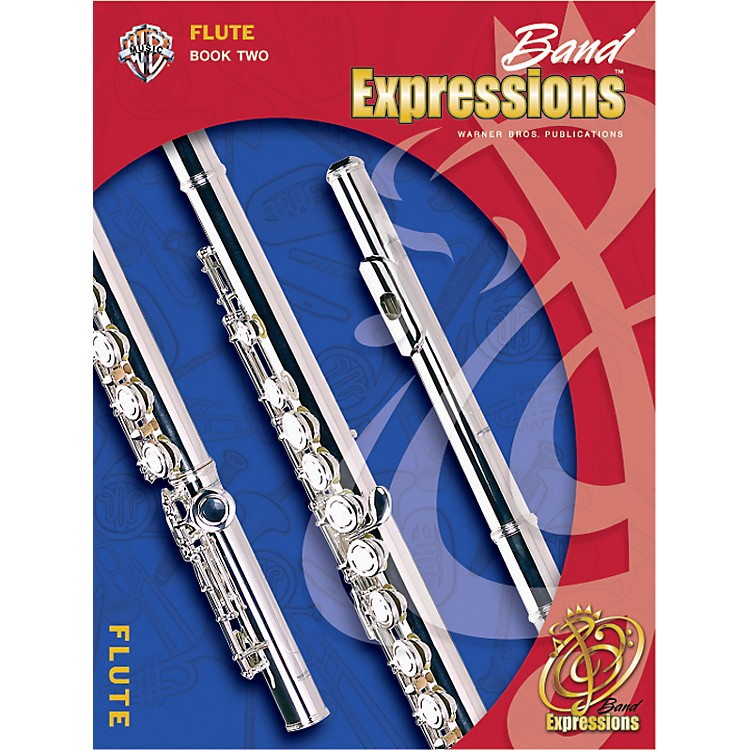 Alfred Band Expressions Book Two Student Edition Flute Book & CD