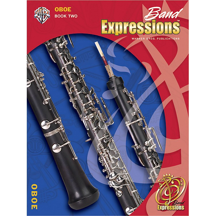 Alfred Band Expressions Book Two Student Edition Oboe Book & CD