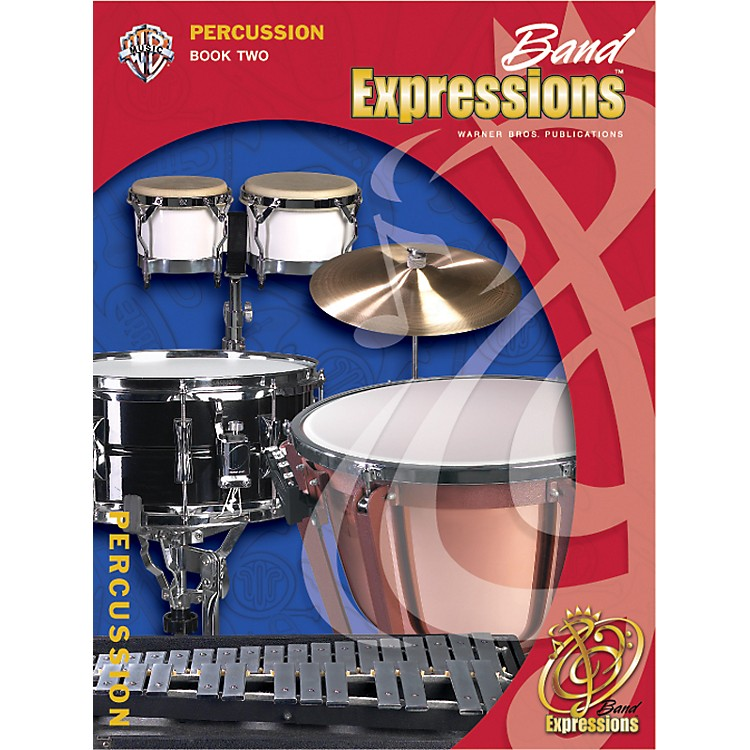 AlfredBand Expressions Book Two Student Edition Percussion Book & CD