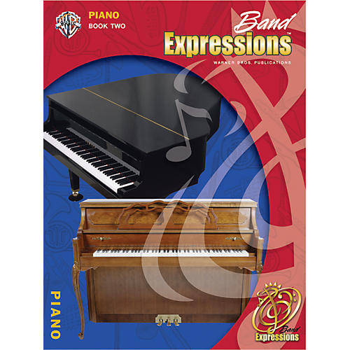 Alfred Band Expressions Book Two Student Edition Piano Book & CD