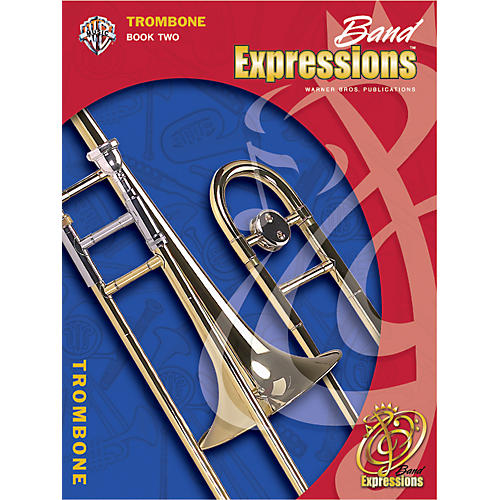 Alfred Band Expressions Book Two Student Edition Trombone Book & CD