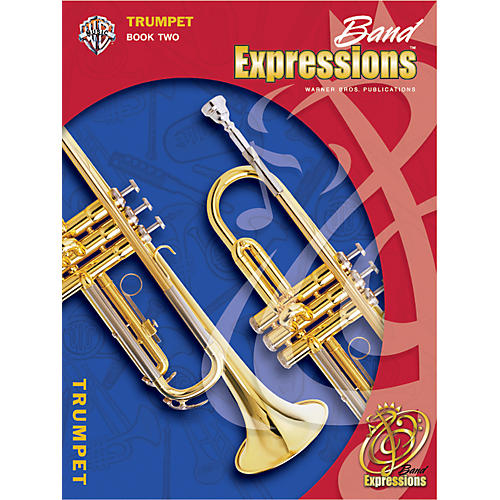 Alfred Band Expressions Book Two Student Edition Trumpet Book & CD