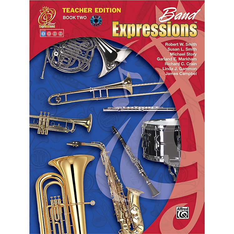 Alfred Band Expressions Book Two Teacher Edition Teacher Curriculum Package