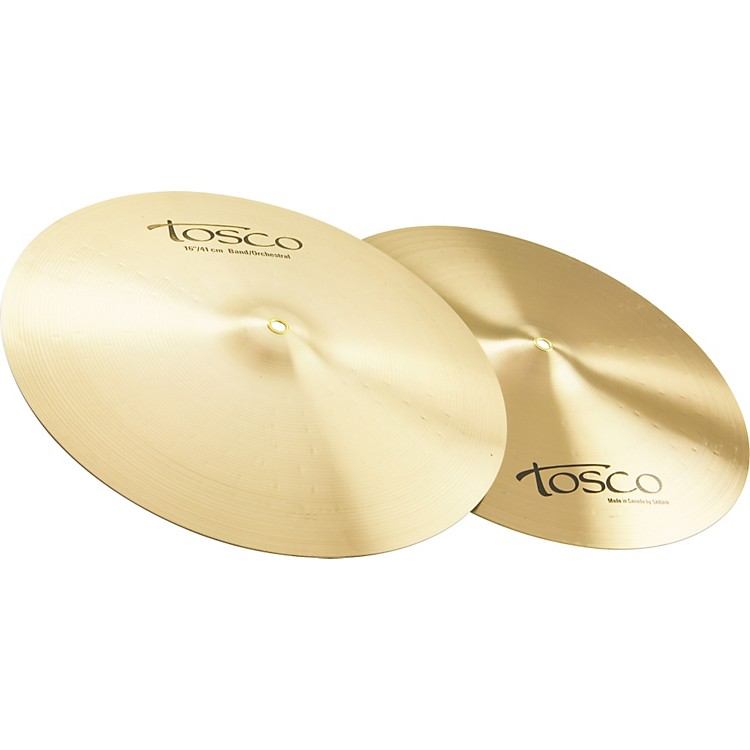 ToscoBand/Orchestra Crash Cymbals by Sabian
