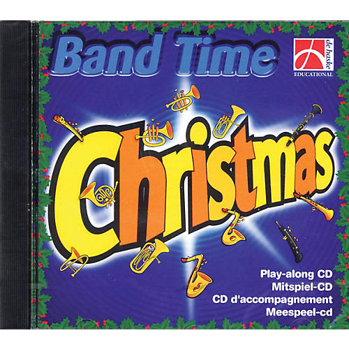 De Haske Music Band Time Christmas (Play-Along CD) Concert Band Arranged by Robert van Beringen-thumbnail