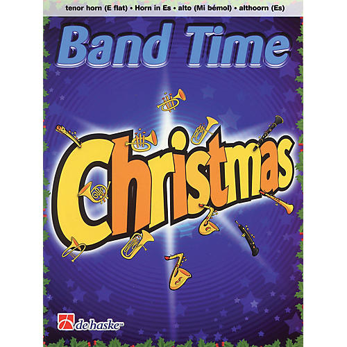 De Haske Music Band Time Christmas (Tenor Horn (E flat)) Concert Band Arranged by Robert van Beringen-thumbnail