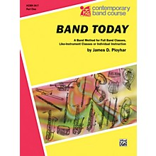 Alfred Band Today Part 1 Horn in F