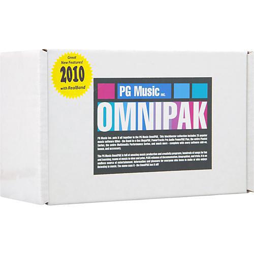 PG Music Band-in-a-Box 2010 for Windows OMNIPAK (Portable Hard Drive)-thumbnail