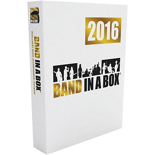 PG Music Band-in-a-Box 2016 EverythingPAK (Win-USB Hard Drive)-thumbnail