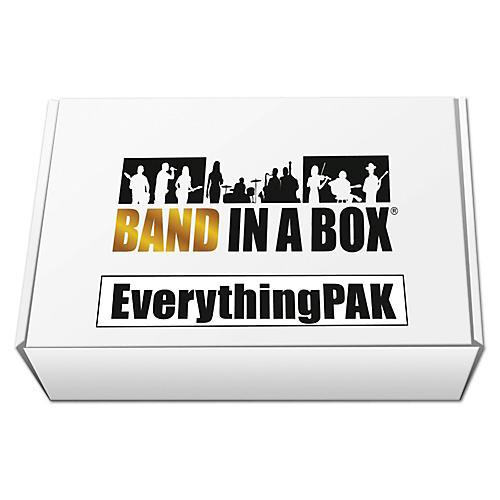 PG Music Band-in-a-Box 2017 EverythingPAK (Windows USB Hard Drive)