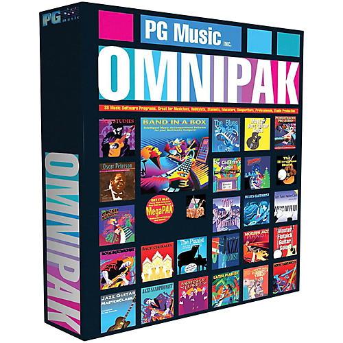 PG Music Band-in-a-Box 2017 OmniPAK (Windows USB Hard Drive)-thumbnail