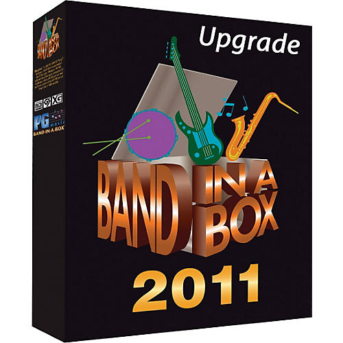 PG Music Band-in-a-Box Audiophile 2011 Audiophile-Audiophile Upgrade (WIN)-thumbnail