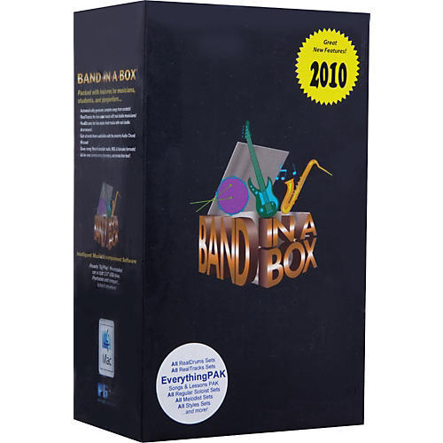 PG Music Band-in-a-Box Pro 2010 for Mac EverythingPAK (Portable Hard Drive)-thumbnail