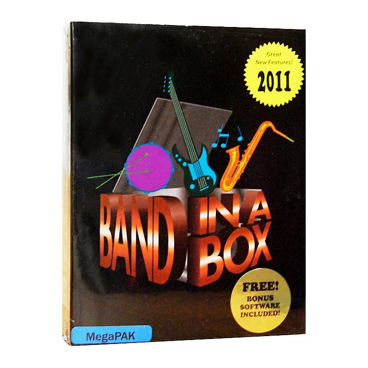 PG MusicBand-in-a-Box Pro 2011 MAC MegaPAK (Mac-DVD)