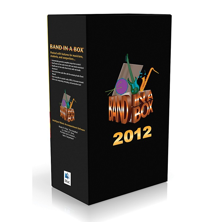 eMedia Band-in-a-Box Pro 2012 MAC Audiofile Edition
